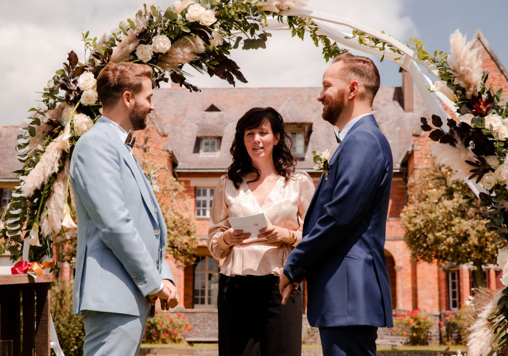 shooting d'inspiration cérémonie laïque wedding planner Nantes revadeux