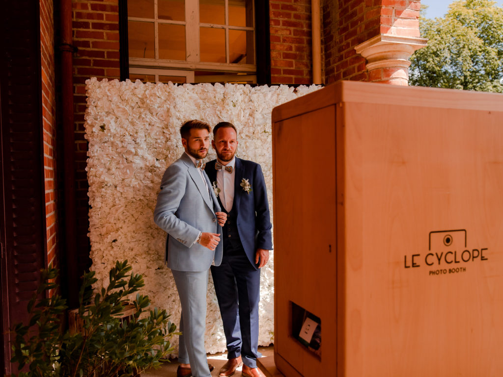 shooting d'inspiration mariage homme photobooth wedding planner Nantes revadeux
